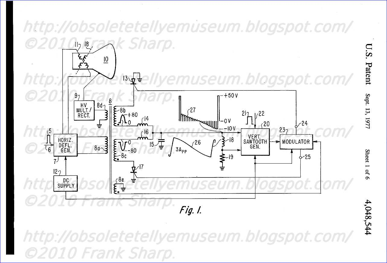 blaupunkt 2020 wiring diagram 2001 bmw x5 circuit horizontal deflection repair scheme