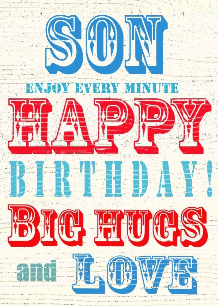 Geburtstagswunsche Geburtstagsspruche Geburtstagsgrusse Fur Sohn