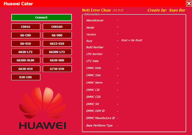 Huawei notification error fix Tool V1 Free Download