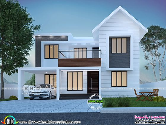 Cute double storied house 1750 square feet