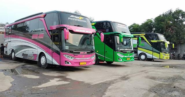 Nama - nama font pada PO. Bus di Indonesia
