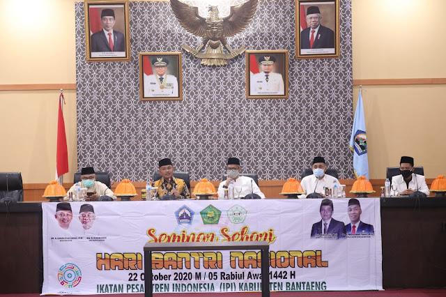 Hari Santri Nasional, Bupati Bantaeng: Ponpes Senantiasa Dukung Peningkatan SDM