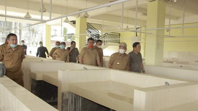 Rampung Dibangun, Pasar Nou Gunungsitoli Mulai Beroperasi Oktober 2021