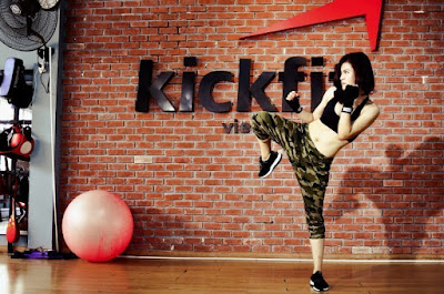 tập kickboxing giúp phòng vệ hiệu quả