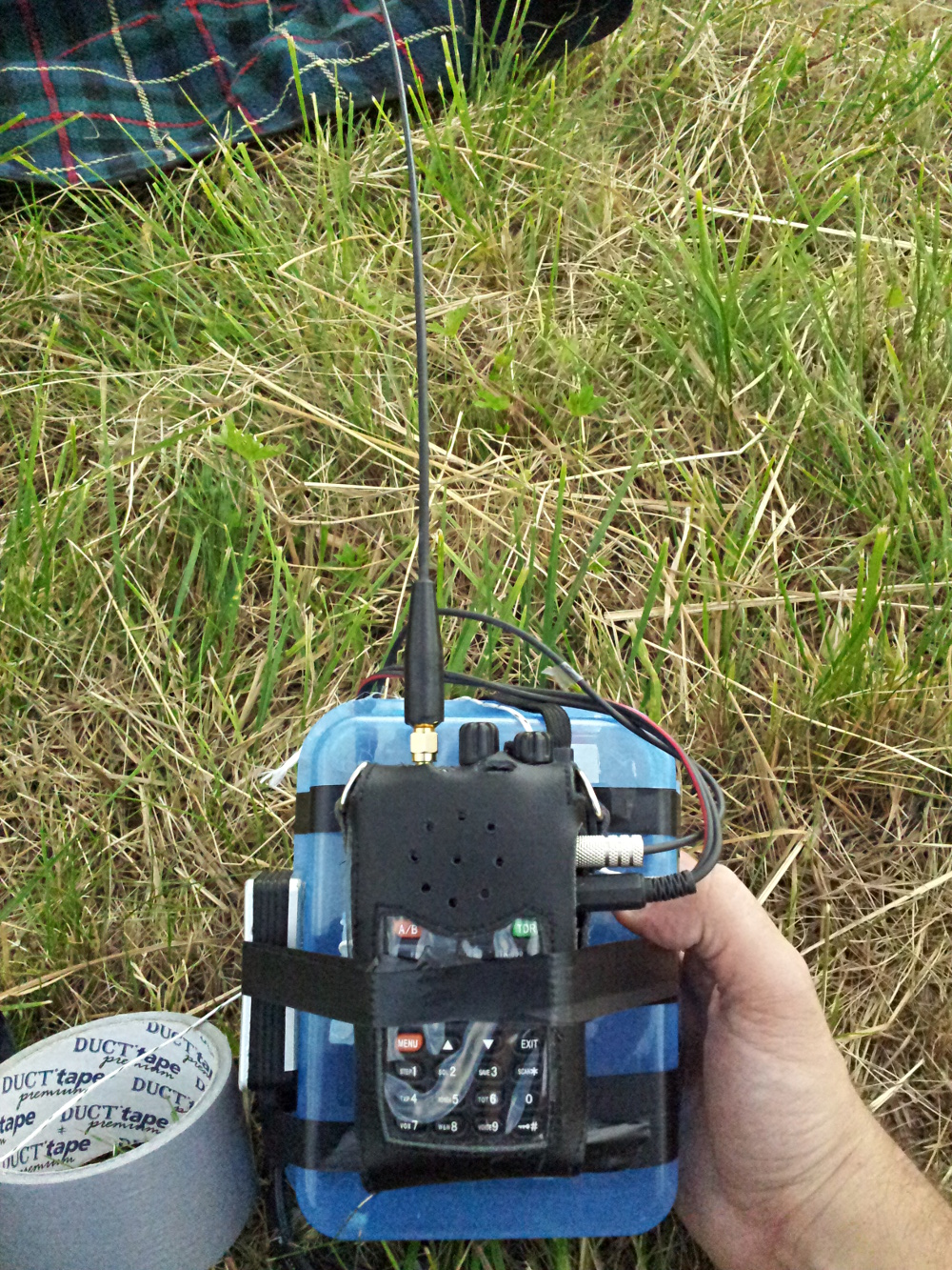 LARR - Low Altitude Radio Relay