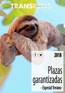 Transrutas viajes Especial Verano 2018