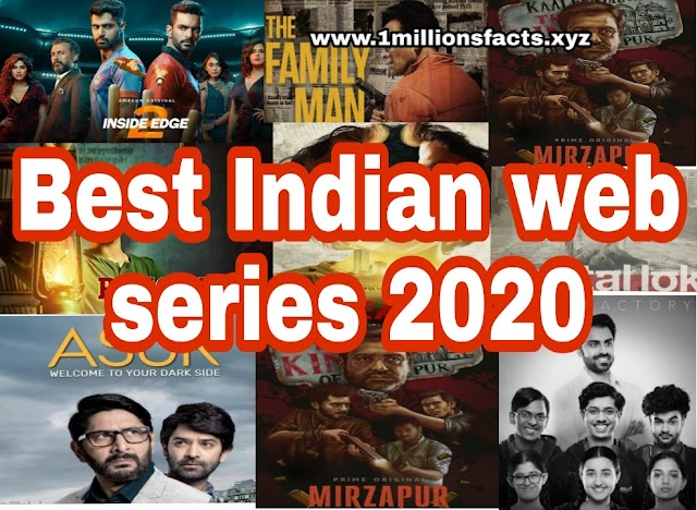 Best Indian web Series 2020 | Top 10 List Of Latest Web series must read