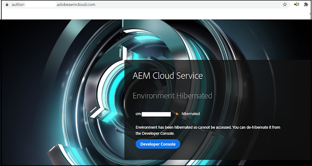 AEM as a Cloud Service
