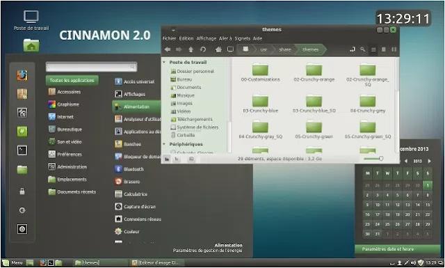 Tampilan Desktop Environment Linux Terbaik Cinnamon