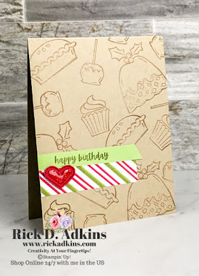 I have a #simplestamping birthday card for you today using the Sweets & Treats Stamp Set for Simple Sunday this week.