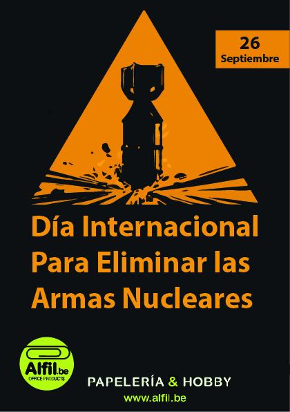 Día Internacional para Eliminar las Armas Nucleares