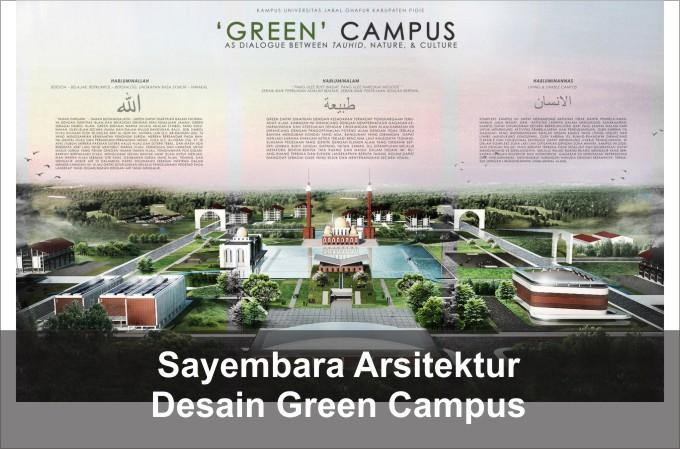 Desain Green Building Campus