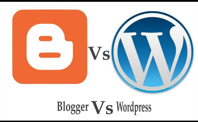 الفرق بين بلوجر والووردبريس وأهم المميزات والعيوب وأيهما أفضل لإنشاء موقعك_Blogger VS Wordpress