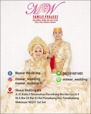 Mawar Wedding Organizer Makassar