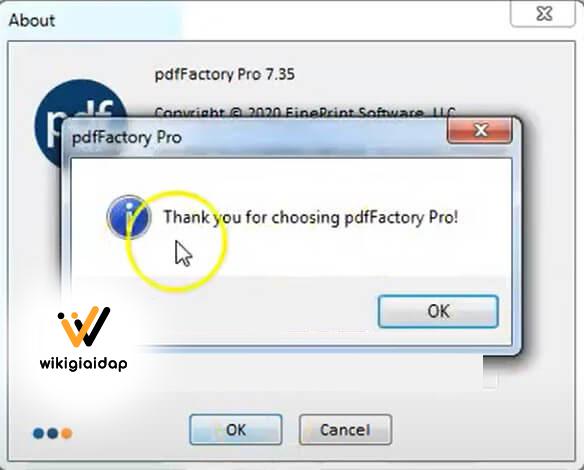 Cách cài đặt PdfFactory Pro