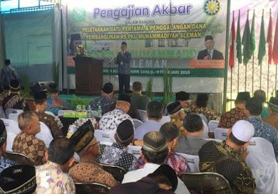 PDM Sleman Galang Dana dan Mulai Bangun Rumah Sakit