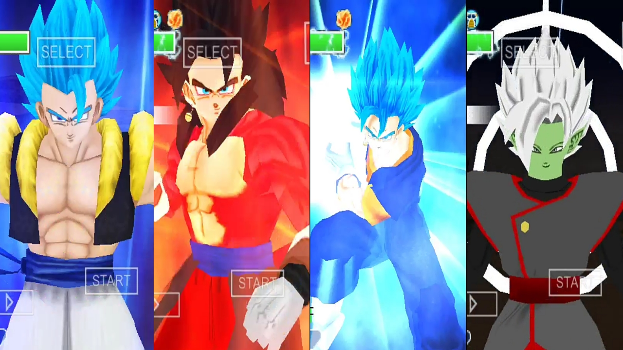 Super Dragon Ball Heroes all Fusions