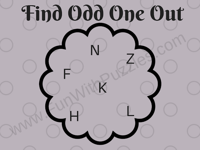 Can you Find Odd Letter in this Picture Puzzle?