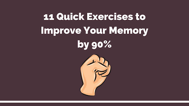 11 Quick Exercises to Boost Your Memory by 90%