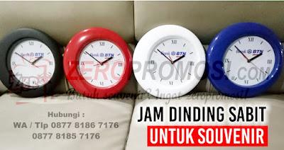souvenir jam dinding unik, jam dinding promosi unik, jam dinding sabit, jam dinding promosi model sabit, dinding eksklusif, jam dinding diameter 30cm, jam dinding custome logo