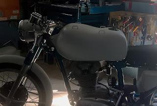 Serbatoio Ducati 200 Elite, serbatoio Ducati, Ducati 175, Ducati 250, restauro moto Ducati, replica serbatoio