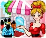 Shop thời trang, game ban gai