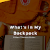 What's in My Backpack (College, Fjallraven Kanken)