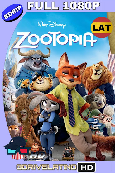 Zootopia (2016) BDRip 1080p Latino-Ingles MKV