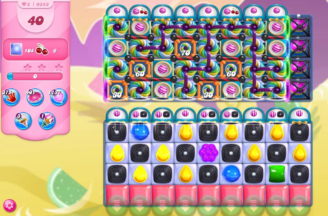 Candy Crush Saga level 9343