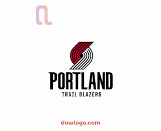 Logo Portland Trail Blazers Vector Format CDR, PNG