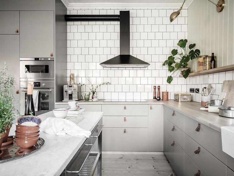 THE ELEGANCE OF SWEDISH-STYLE KITCHEN