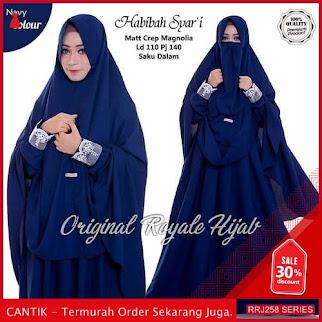 Jual RRJ258S65 Set Syari Habiba Wanita Lh Terbaru Trendy BMGShop