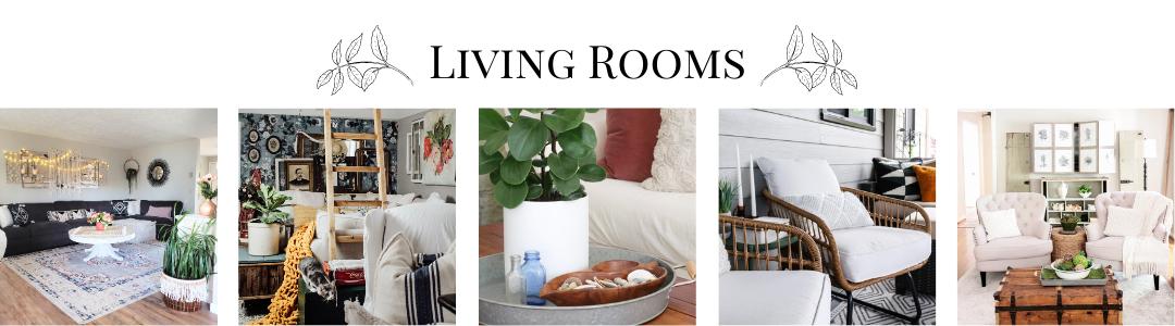 5_LivingRooms Spring Into Summer Entry Ideas Decorating Holidays Summer