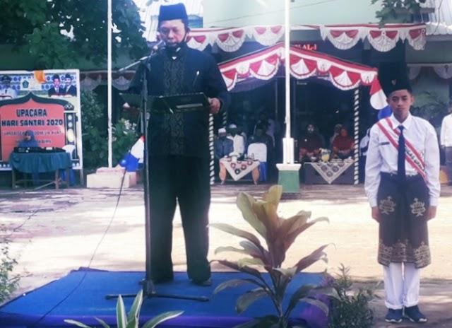 Kepala Kantor Kemenag Kobi Jadi Irup Peringatan Hari Santri Nasional 2020