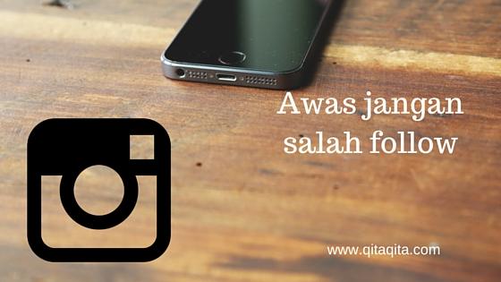 Awas jangan salah follow, ini Instagram Jokowi