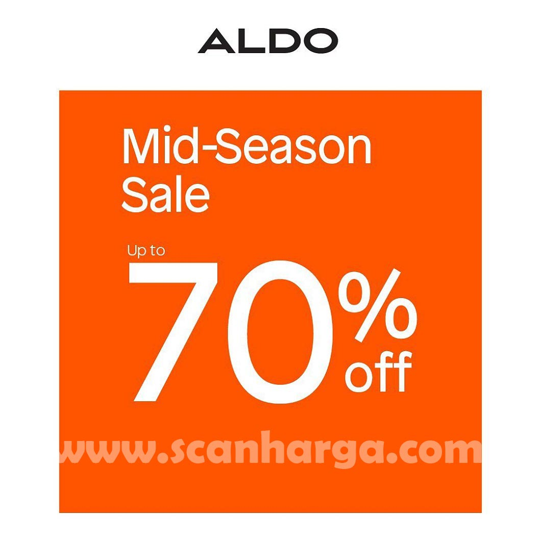 Promo Aldo Shoes Mid Season SALE Discount Up To 70% Off*