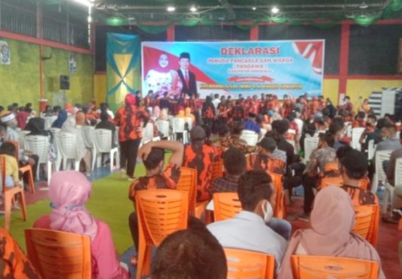 Dukungan untuk Pasangan Calon (Paslon) Bupati dan Wakil Bupati Bengkalis, Kasmarni - Bagus Santoso (KBS) Terus Mengalir