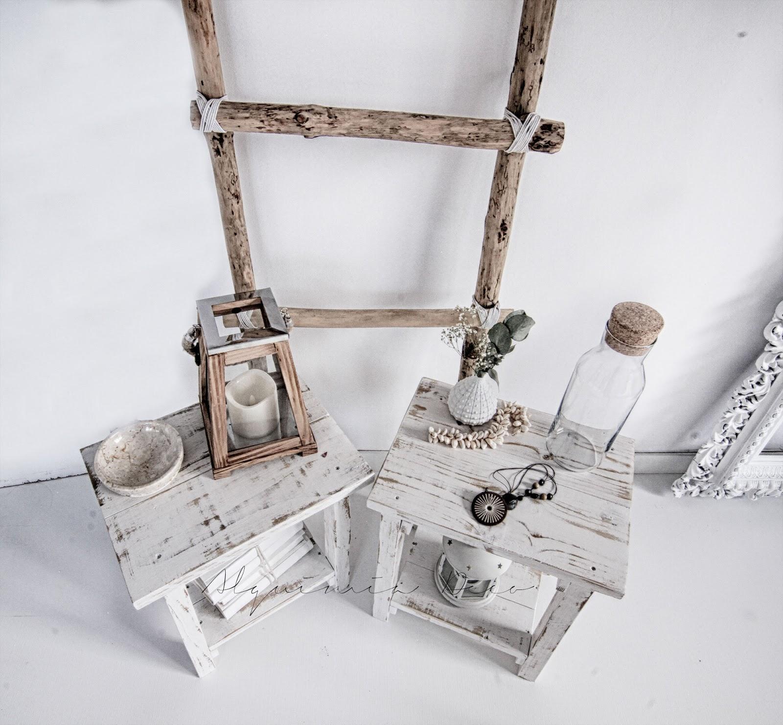 mesita noche madera natural blanco envejecido estilo nordico decoracion nordica interiorismo barcelona interiorista alquimia deco