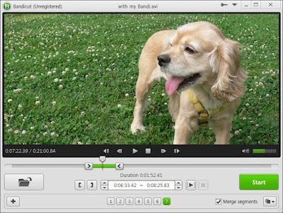 تحميل برنامج Bandicut لدمج وتقطيع الفيديو