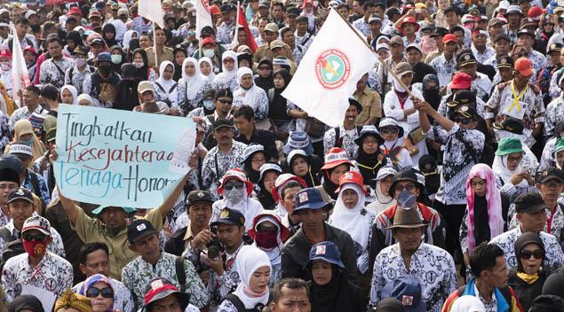 Siap-siap Untuk Honorer, Formasi 700 Ribu Guru Akan Diisi PPPK Simak Penjelasan MENPAN-RB