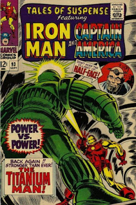 Tales of Suspense #93, Iron Man vs Titanium Man