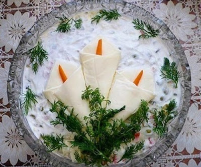 """Закуски """"Каллы"""" - варианты рецептов и идеи оформления"""