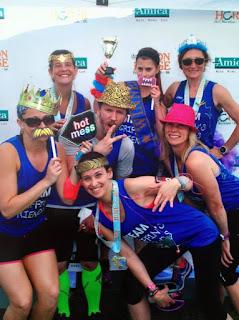 Amica Iron Horse Half Marathon - We finished! Keep it real!