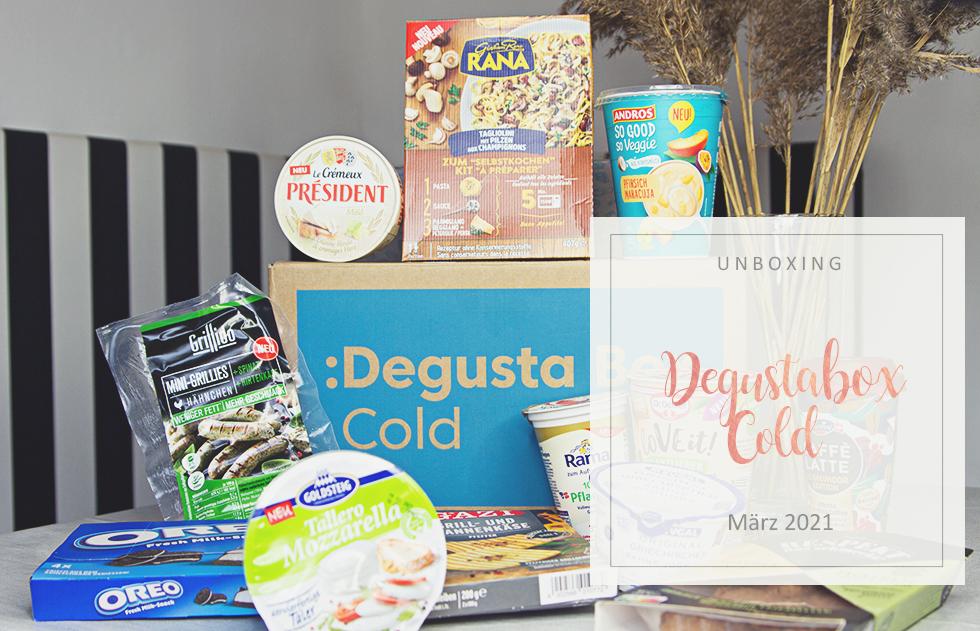 Degusta Box Cold - März 2021 - unboxing