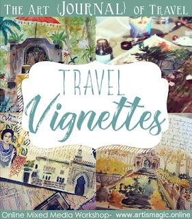 Travel Vignettes The Art {Journal} of Travel
