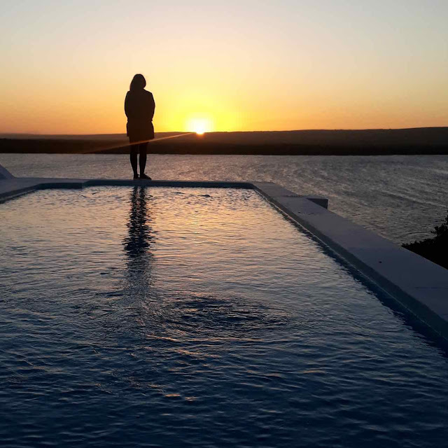 Sunset at the De Hoop Collection