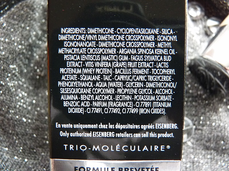 Perfecteur Teint Express Eisenberg Paris inci ingredients