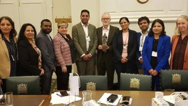Congress leader met UK