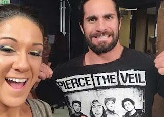 WWE Mix Match Tag Bayley Becky Lynch Seth Rollins