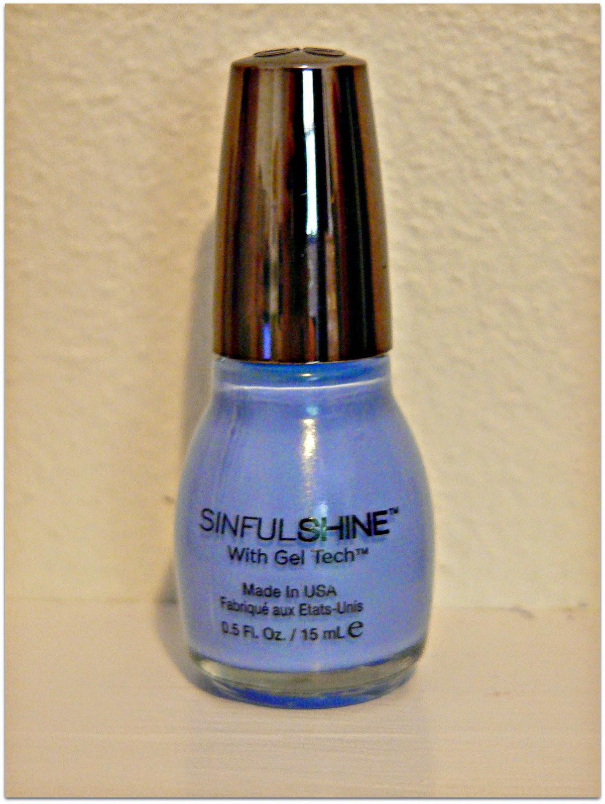 sinful shine nail polish review